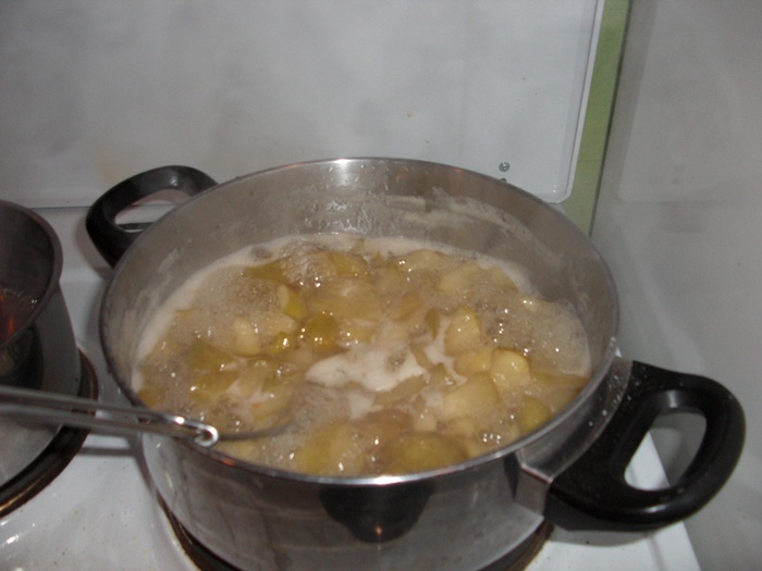 Birne-Zimt-Marmelade