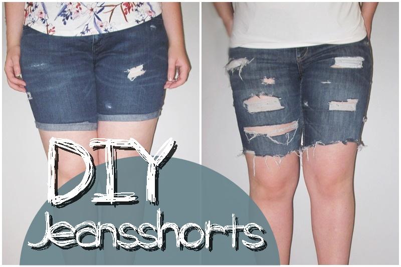 Gastpost Diy Jeansshorts Im Used Look
