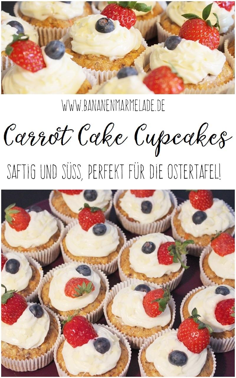 Wenn nichts mehr geht, geht immer noch Carrot Cake. Hier ein Rezept für den besten aller Kuchen in einer Cupcake Version! Guten Appetit!