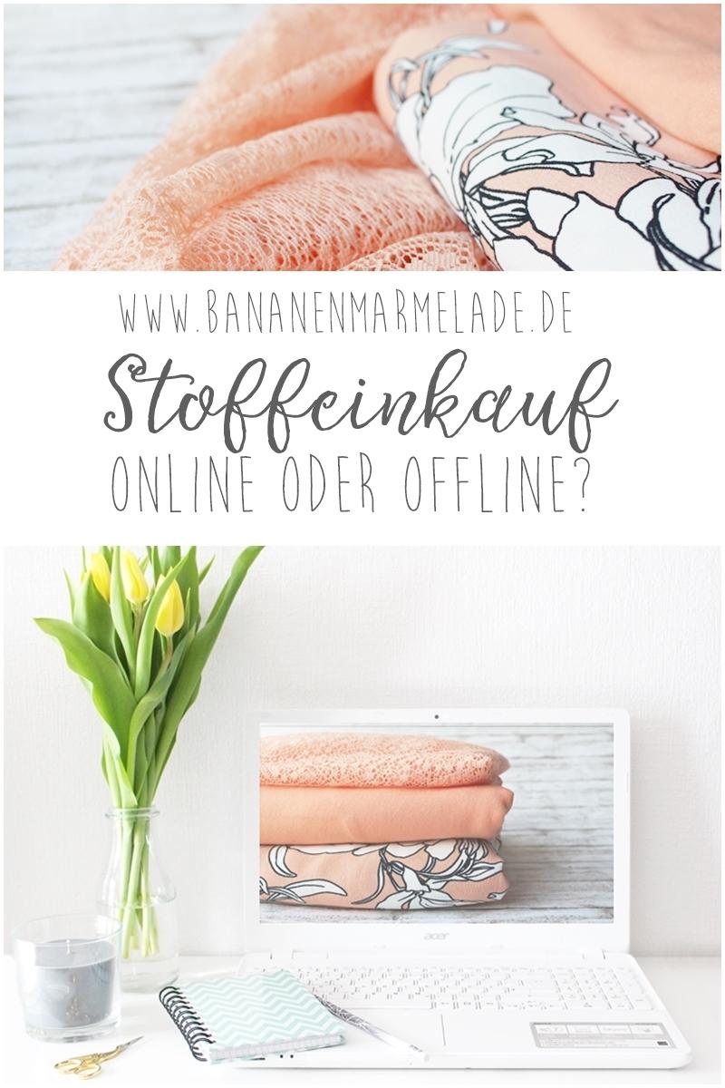 Stoffeinkauf: Online vs. Offline