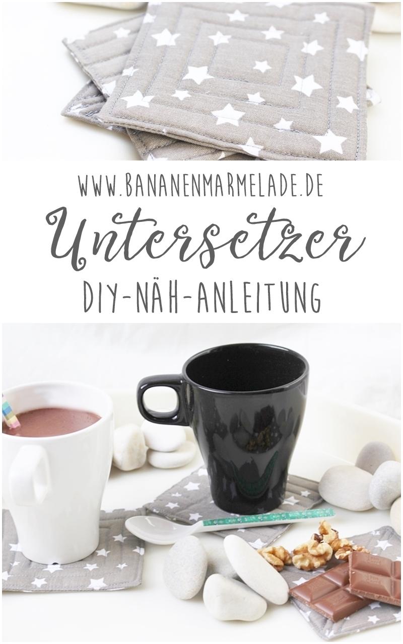 Weihnachtszeit ist Heiße-Schokolade-Zeit. Die schönste Zeit für heiße Getränke. Passend dazu eine kleine DIY-Geschenkidee für euch: Untersetzer!