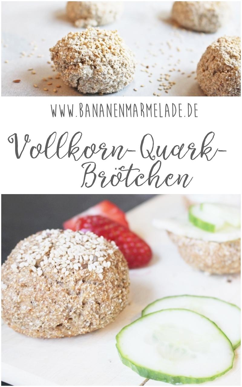 Vollkorn-Quark-Brötchen