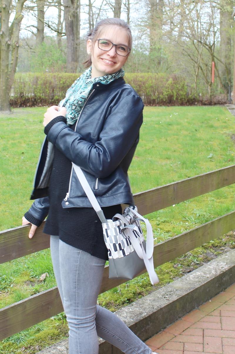Handtasche nach eigenem Schnitt