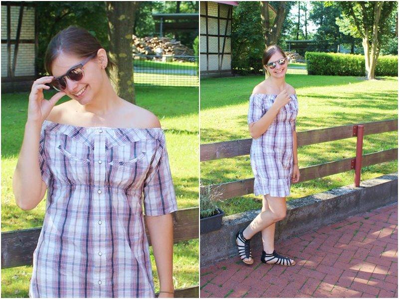 DIY Sommerkleid aus einem Männerhemd