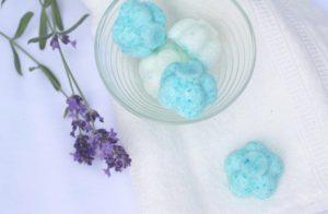 Lavendel Badebomben