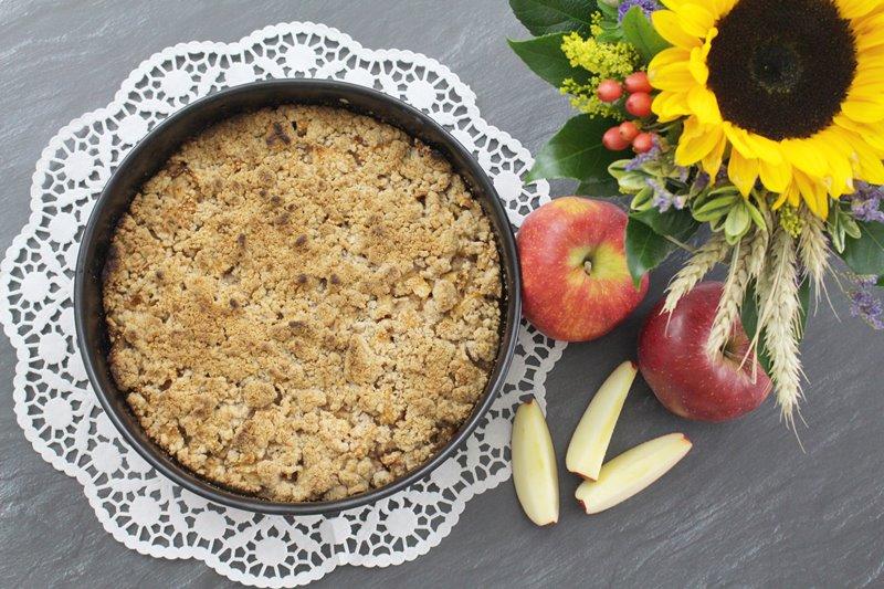Rezept Apfel Streusel Kuchen Bananenmarmeladebananenmarmelade