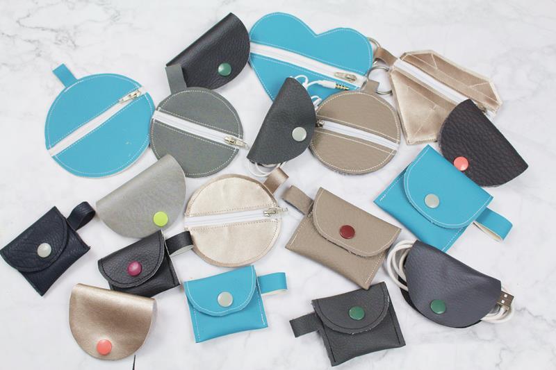 Näh-Ideen für kleine Lederreste