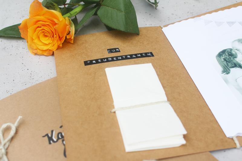 Liederhefte aus Kraftpapier